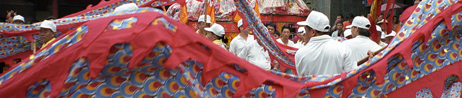 A photograph taken during the Matsu Festival - Taipei, Taiwan May 4, 2002 that is being for used for Taiwan Photogallery Set C